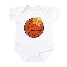 Basketball Butterfly Gift Infant Bodysuit