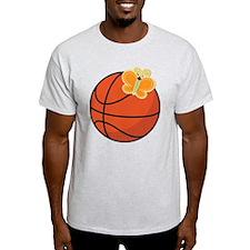 Basketball Butterfly Gift T-Shirt