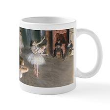 Degas - Rehearsal Onstage Small Mug