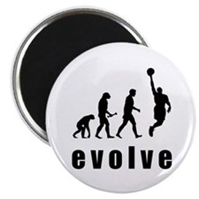Evolve Basketball Magnet