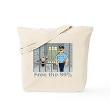 Free the 99% Tote Bag