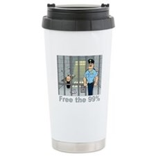 Free the 99% Travel Coffee Mug