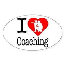I Love Coaching Decal