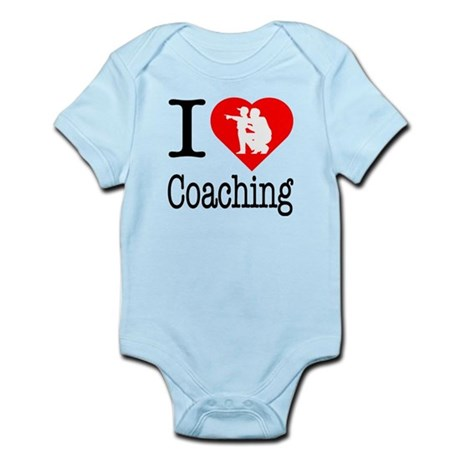 I Love Coaching Infant Bodysuit