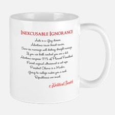 Inexcusable Ignorance Mug
