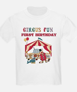 Circus 1st Birthday T-Shirt