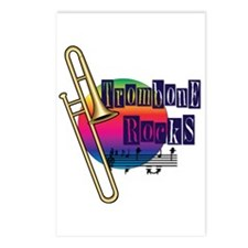 Trombone Rocks Postcards (Package of 8)