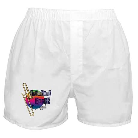 Trombone Rocks Boxer Shorts