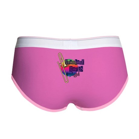 Trombone Rocks Women's Boy Brief
