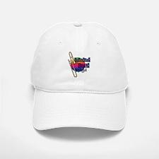 Trombone Rocks Baseball Baseball Cap