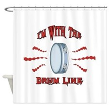 Tambourine Rocks Shower Curtain
