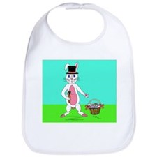 The Easter Bunny! Bib