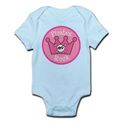 Pirates Rock Gift Infant Bodysuit