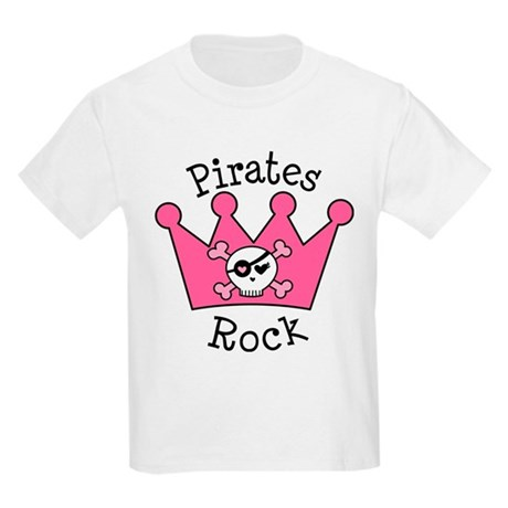 Pirates Rock Gift Kids Light T-Shirt