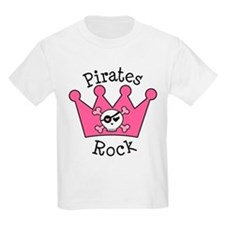 Pirates Rock Gift T-Shirt