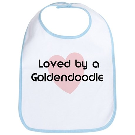Loved by a Goldendoodle Bib