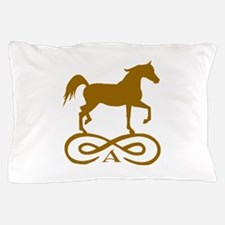 Gold Infinity Arabian Pillow Case