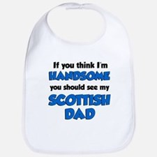 Handsome Scottish Dad Bib