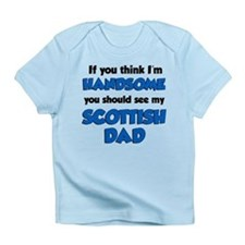 Handsome Scottish Dad Infant T-Shirt