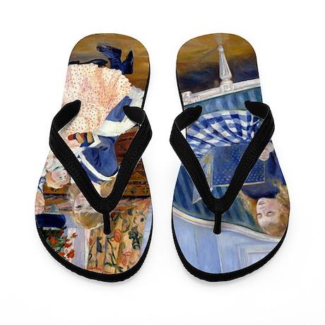 Renoir - Wargemont Flip Flops