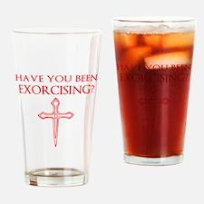 Exorcising Drinking Glass