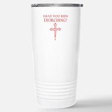 Exorcising Travel Mug