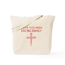 Exorcising Tote Bag