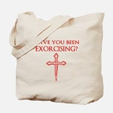Exorcising Tote Bag