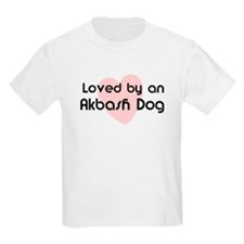 Loved by an Akbash Dog Kids T-Shirt