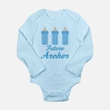 Future Archer Gift Long Sleeve Infant Bodysuit