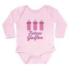 Future Golfer Gift Long Sleeve Infant Bodysuit