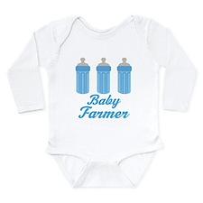 Future Farmer Gift Long Sleeve Infant Bodysuit