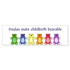 Doulas / Bearable Bumper Bumper Sticker