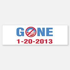 GONE 2013 Bumper Bumper Sticker