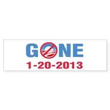GONE 2013 Bumper Sticker
