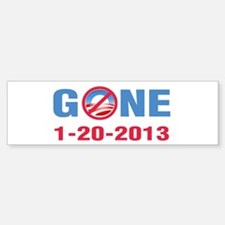 GONE 2013 Sticker (Bumper)