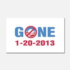GONE 2013 Car Magnet 20 x 12