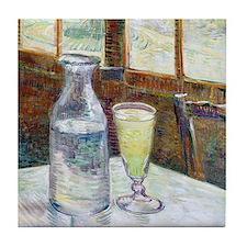 Van Gogh - Absinthe Tile Coaster