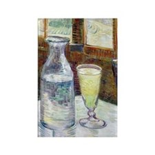 Van Gogh - Absinthe Rectangle Magnet
