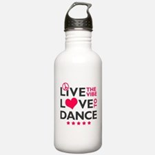 Live Love Dance Water Bottle