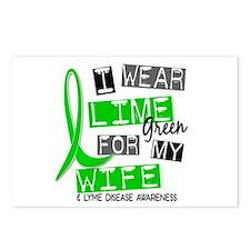 I Wear Lime 37 Lyme Disease Postcards (Package of