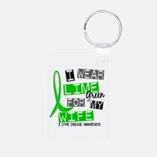 I Wear Lime 37 Lyme Disease Keychains