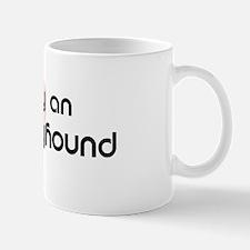 Loved by a Italian Greyhound Mug