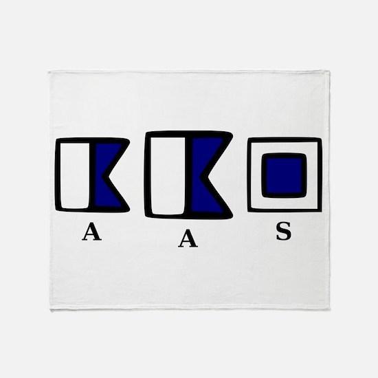 aAs Throw Blanket