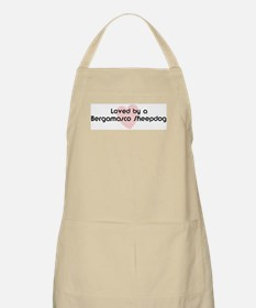 Loved by a Bergamasco Sheepdo BBQ Apron