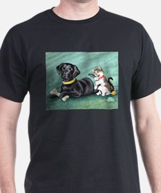 Black Lab - Cat Tails T-Shirt