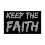 Keep the Faith 38.5 x 24.5 Wall Peel