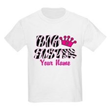 Big Sister Zebra T-Shirt