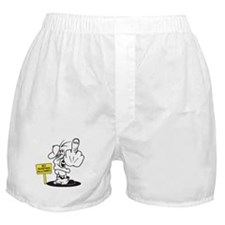 Funny Surfing Boxer Shorts