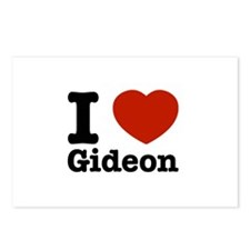I love Gideon Postcards (Package of 8)